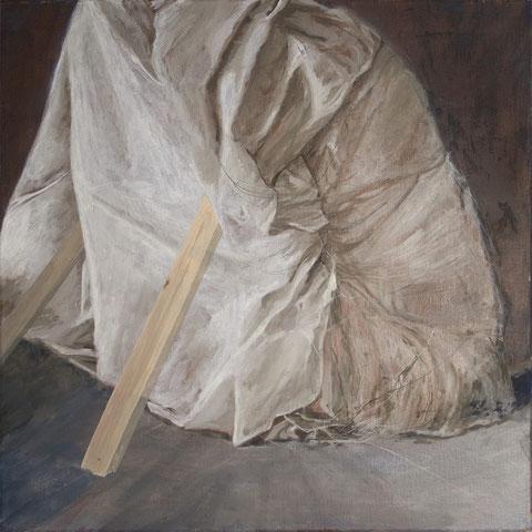 """anna steinhäusler, """"konstrukt"""", 2015, 60 x 60 cm, eitempera auf leinwand – erlas galerie"""