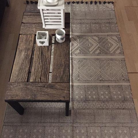 Tisch mit alter Eiche CHF 650.00
