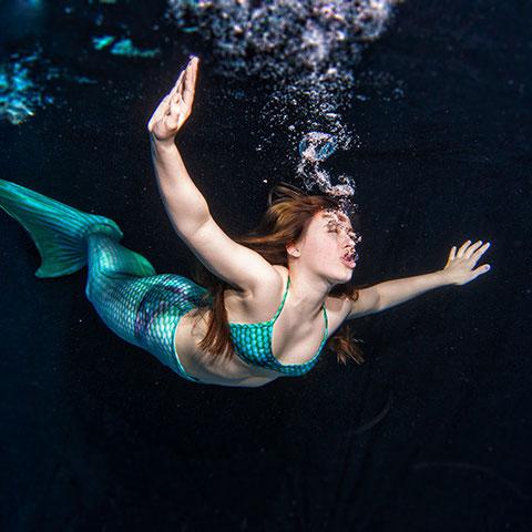 Mermaiding als Erlebnis für Erwachsene