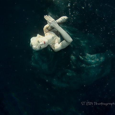 Unterwasser Personen Fotografie