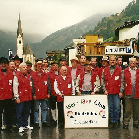 Gruppenfoto in Heiligenblut