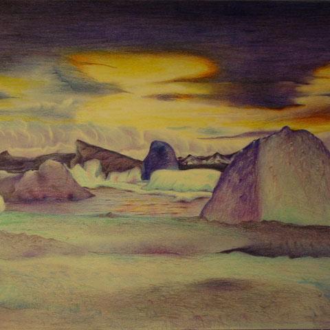 Arktis Buntstift 2000 40X30 12.1991