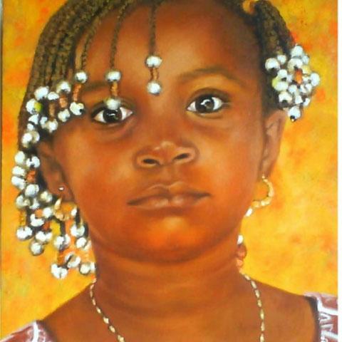 Petite filleAfricaine
