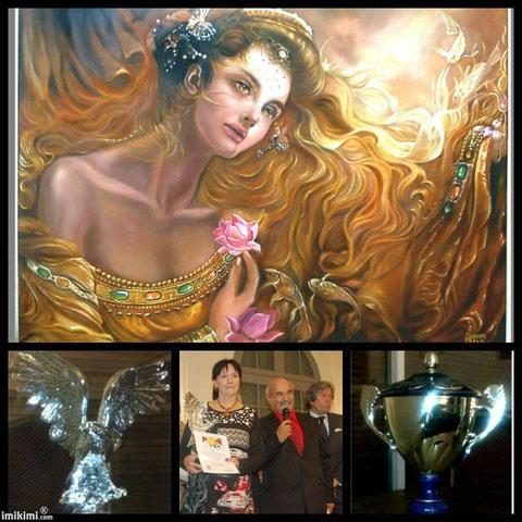 Deuxième prix du 24 ème Aigle de Nice! ... Aigle d'Argent...