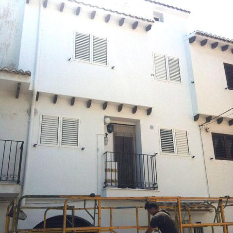 fachada pintada
