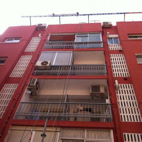 pintar fachadas comunidad de vecinos