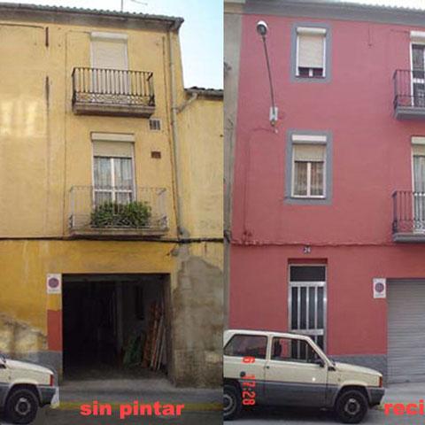 pintar fachada antigua