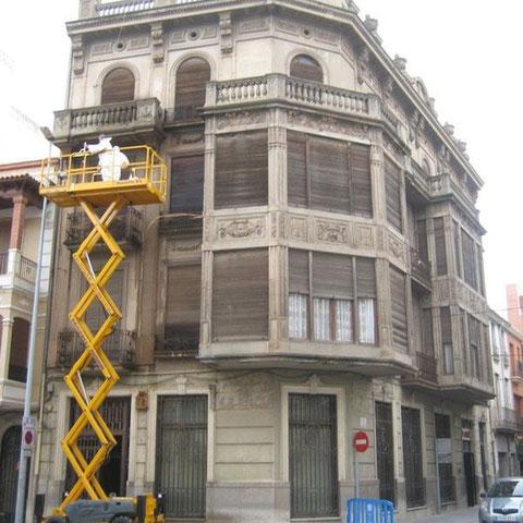 elevador para fachada
