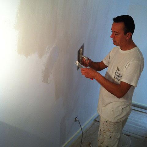 Alisar gotele como quitar el gotel pintor de valencia - Pasta alisar paredes ...