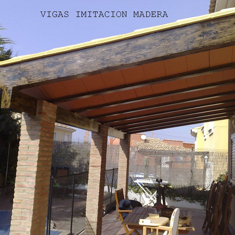 Imitacion madera para exteriores pintor de valencia - Imitacion madera para exterior ...