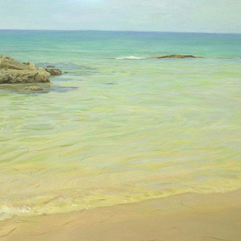 Rocks in the shore. 100 x 70cm. *