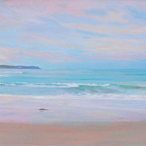 Playa de los Locos. Santander. 100 x 50 cm.
