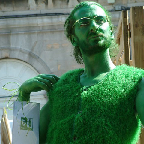 "Gérardnium - spectacle ""l'Homme Vert""- Aline Siffert"