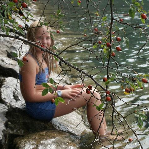 Lucia am See mit Hindernissen