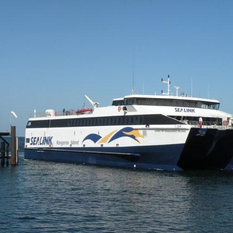 Überfahrt zum Kangoroo Island