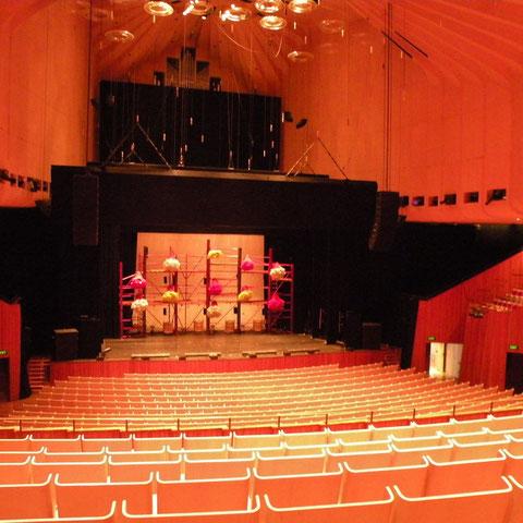 Im Opera House besuchten wir Balé de Rua.
