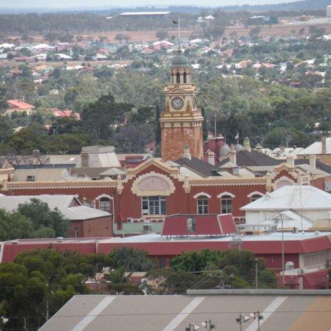 Karlgoorlie die Stadt mit der Gold Mine