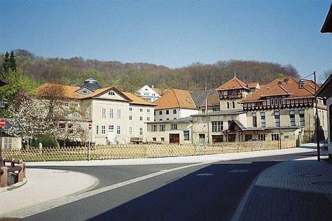 Alte Badehausanlagen vor dem Abriß - Archiv J. Bodenstein