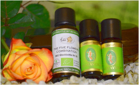 Harmonie, Ausgeglichenheit, Bachblüten, Düfte, Aromaöle, Ätherische Öle, Sinnlichkeit