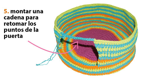Cama para gatos tejida a crochet / Crochet cat bed or nest