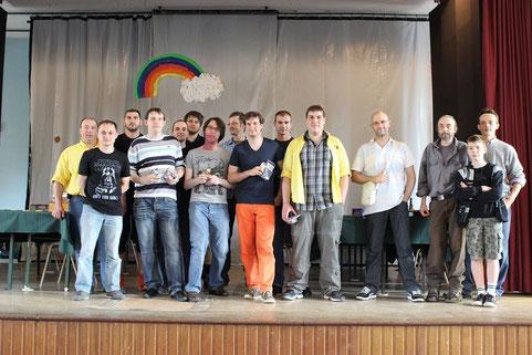 Les participants du Tournoi