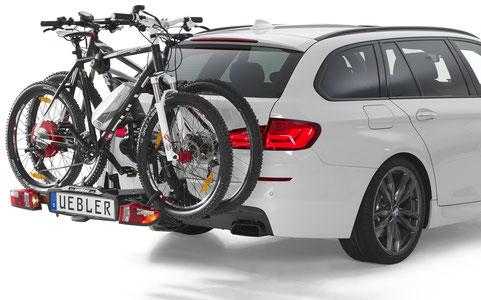 Uebler Heckträger für e-Bikes, Fahrräder und Pedelecs