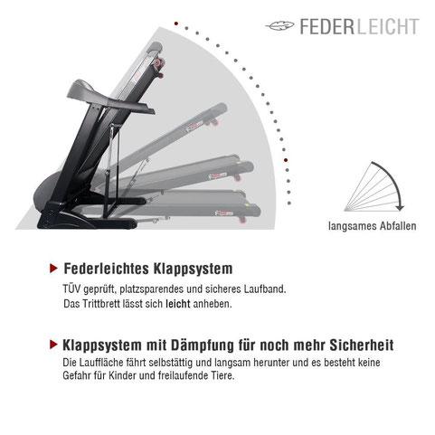 Fitifito klappbares Laufband Fitifito FT850 Laufband günstig kaufen