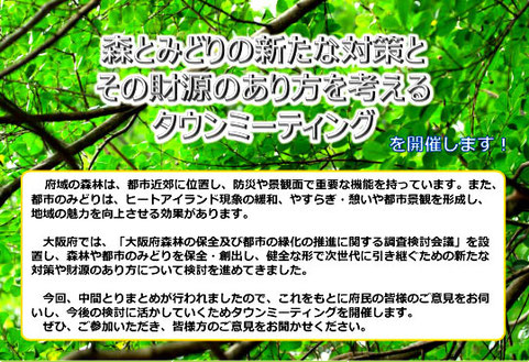 """""""タウンミーティング""""の正式名"""