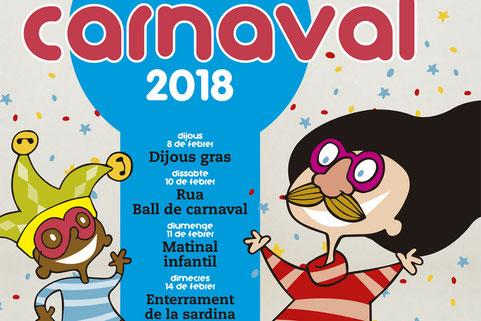Programa del Carnaval de Rubí