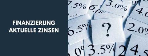 Aktuelle Zinsen Immobilienfinanzierung