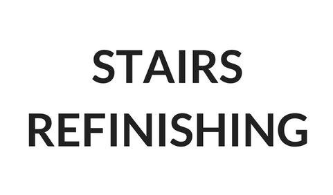 STAIRS REFINISHING