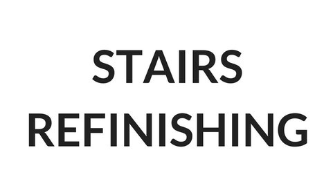 STAIRS REFINISHING
