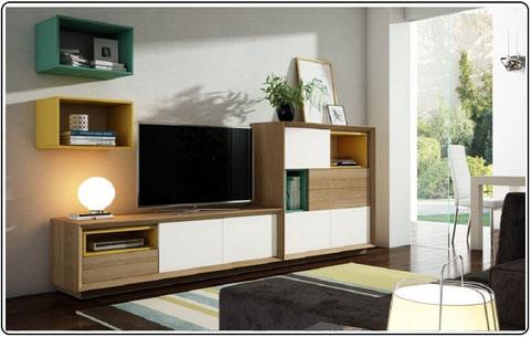 Salón - comedor moderno - Página web de dkora123