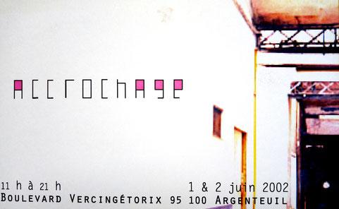 2002 - Portes ouvertes - Ateliers du 4, Argenteuil - Roman Gorski