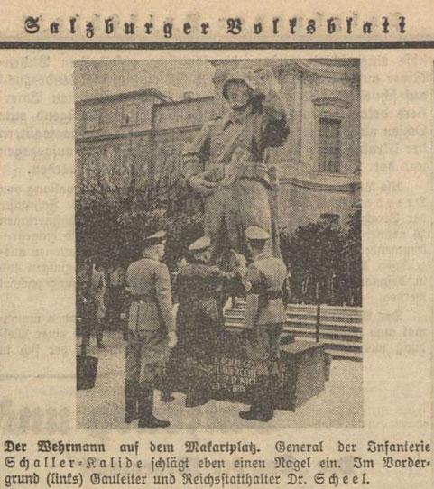 Salzburger Volksblatt, 30. März 1942