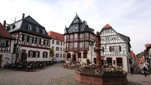 Marktplatz in Heppenheim Bergstraße