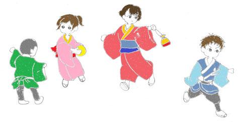 NHK連続テレビ小説「おかえりモネ」のロケ地として注目されている登米。その登米市登米町「みやぎの明治村」バーチャル町めぐりのハイカラ・イラスト