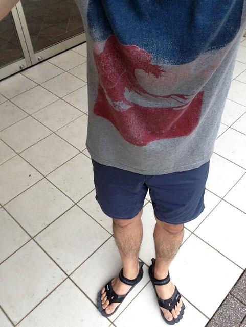 本日はパタゴニアコットンTシャツ&HOUDINI Crux Shorts‼&Sazzi-
