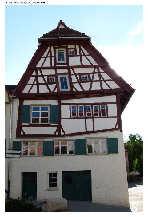 Komplizierte Physiognomie in Ehingen