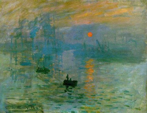 Впечатление. Восохдящее солнце - самые известные картины Клода Моне