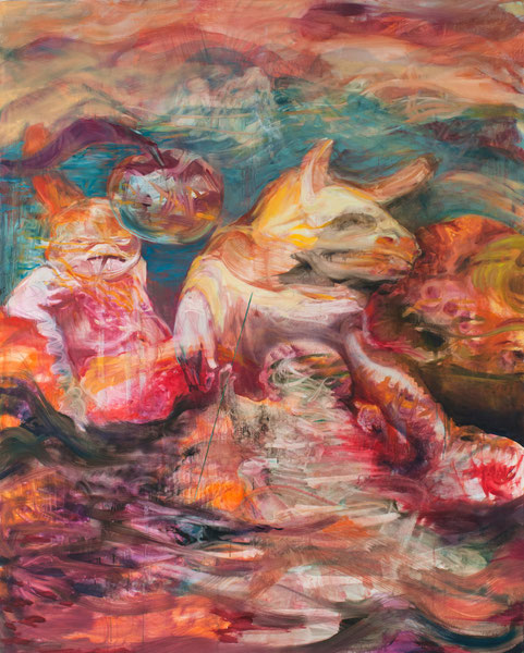 Untitled- -Oil on canvas- -2014- -200x160cm