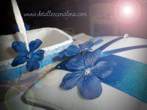 Detalle conjunto Blue