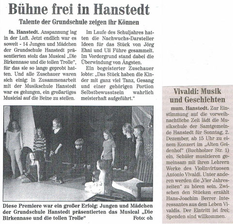 Nordheide Wochenblatt 05.09.2012 ...............................................Nordheide Wochenblatt 21.11.2012