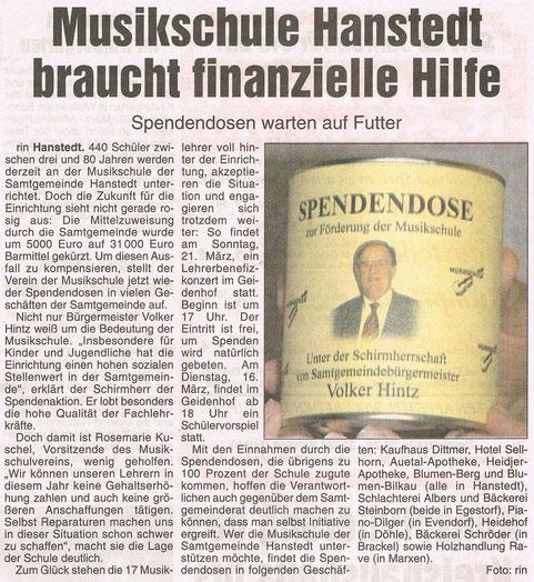 Nordheide Wochenblatt 11.03.2004