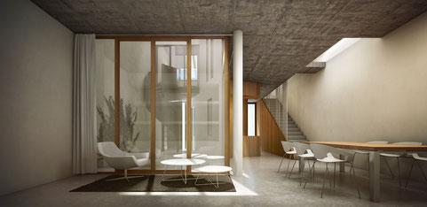 Patio haus Passive house Passivhaus Clima cálido Castaño y asociados Tradicional Sostenible Arquitectura Andalucía Sevilla