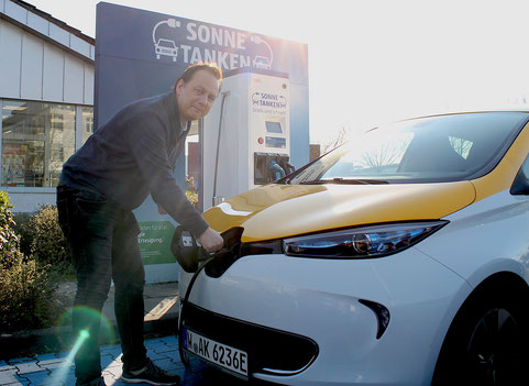 Immerhin auch im E-Auto so ökologisch und ökonomisch günstig wie möglich.