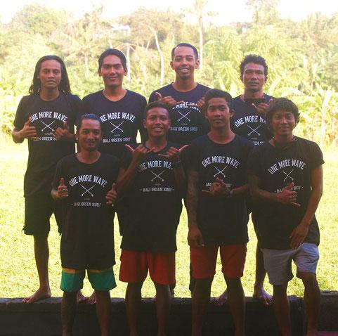 Surfschule Team Bali