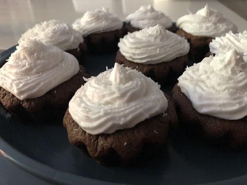 cupcakes choco coco sans gluten sans lactose