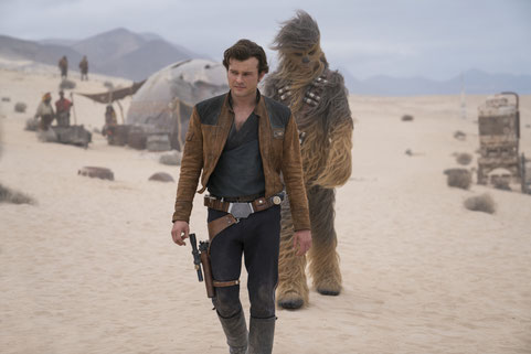 Solo A Star Wars Story Film Review Han Solo Chewbacca