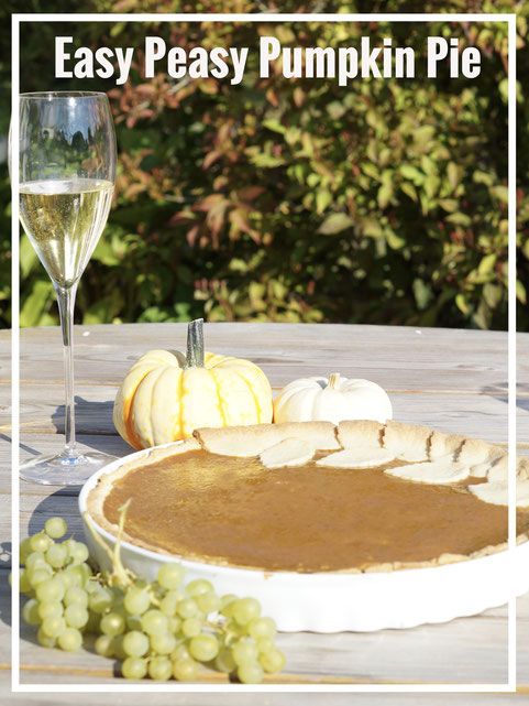 Easy Peasy Pumpkin Pie